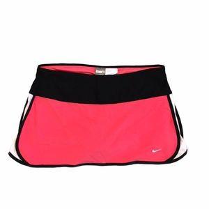 Nike Pink, Black & White Tennis Skirt w/ Spandex